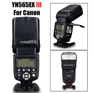 Flash Canon t7  ▷ Precio con los 3 FLASHES del Flash Canon t7