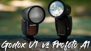 Flash Godox v1 vs profoto a1 - Precio con los tres FLASHES para Flash Godox v1 vs profoto a1