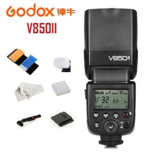 Flash Godox v850ii TIENDA - Precio con los tres FLASHES para el Flash Godox v850ii