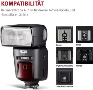 Flash Metz mecablitz 64 af-1 TIENDA - Catálogo top 3 FLASHES para Flash Metz mecablitz 64 af-1