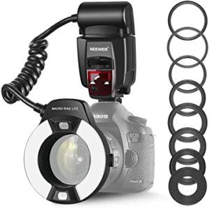 Flash Canon ring TIENDA  - Catálogo top TRES MEJORES FLASHES para Flash Canon ring