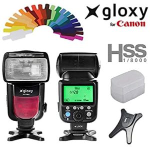 Flash Gloxy ttl hss gx-f990c canon - Catálogo con los 3 MEJORES FLASHES para el Flash Gloxy ttl hss gx-f990c canon