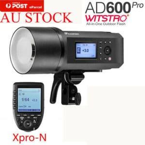 Flash Godox witstro ad600 ▷ Catálogo con los 3 FLASHES del Flash Godox witstro ad600