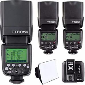 Flash Godox tt685 canon - Precio Top TRES mejores FLASHES para el Flash Godox tt685 canon