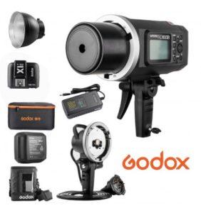 Flash Godox ad600b - Catálogo de los tres FLASHES para Flash Godox ad600b