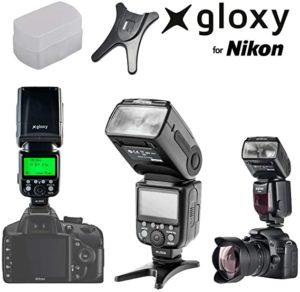 Flash Gloxy tr-985 ttl 360o TIENDA - Precio top tres mejores FLASHES para Flash Gloxy tr-985 ttl 360o