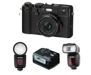 Flash Fujifilm xt100 - Precio con los 3 FLASHES para Flash Fujifilm xt100