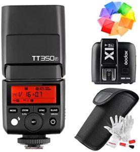 Flash Godox tt350f - Catálogo de los 3 MEJORES FLASHES para el Flash Godox tt350f